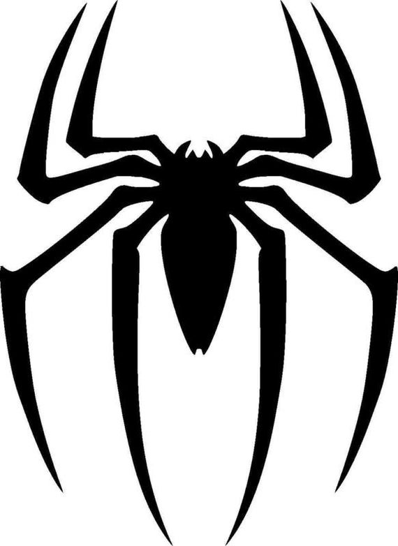 Vinyl Decal Spider Hero, Superhero Decal