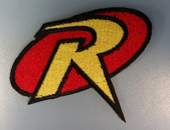 Superhero Embroidered Patch, Iron On Sidekick Hero Patch