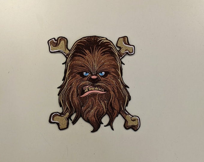 Hairy Sci Fi Sidekick Embroidered Patch