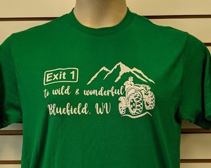 Wild and Wonderful Bluefield West Virginia Tee Shirt