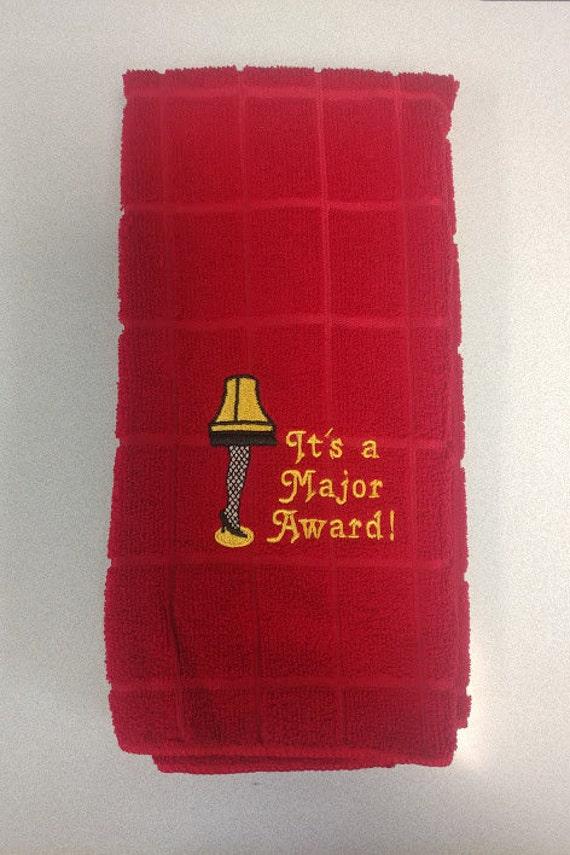 Christmas Major Award Kitchen Towel