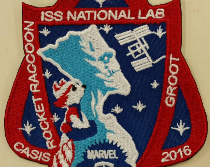 Superhero Space Group Embroidered Patch, Iron On Space Heroes Patch