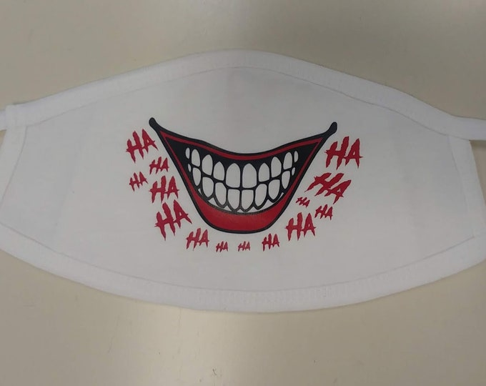 Funny Clown Laugh Mask, Comic Character Smile Mask