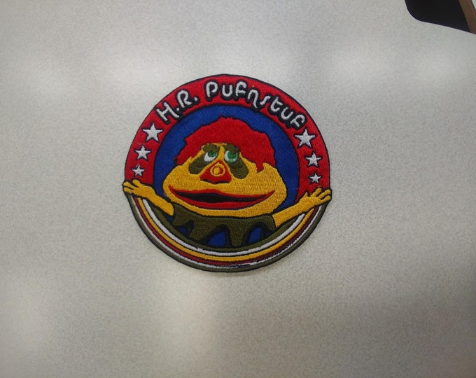 Retro 70s Cartoon Puppet Character Patch