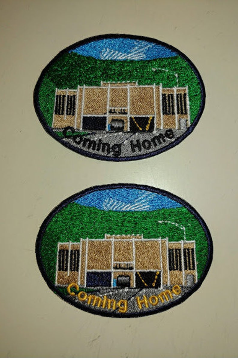Coming Home Bluefield West Virginia Embroidered Patch