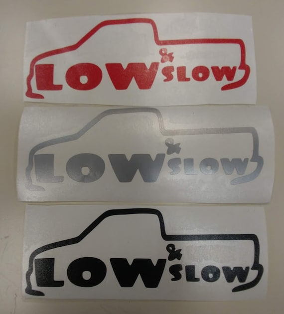 Lowrider Vinyl Decal, Mini Truck Fan Decal, Lowrider Accessory