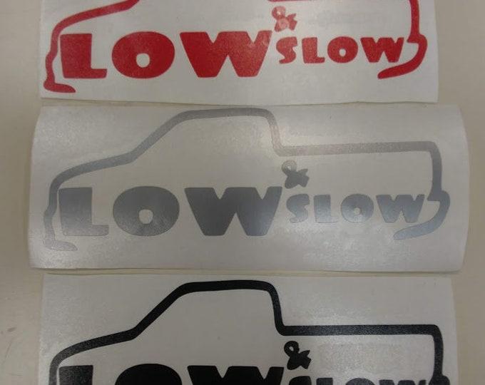 Lowrider Vinyl Decal, Mini Truck Fan Decal, Lowrider Accessory