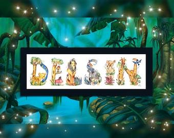 Custom Lion King Painting - Nursery | Simba, Timone, Pumba, Scar, Nala, Rafiki