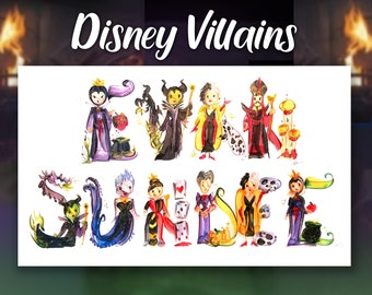 Disney Villain Maleficent Name Painting | Name Art | Letter Art | Name Letters
