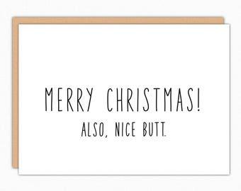 christmas card boyfriend etsy