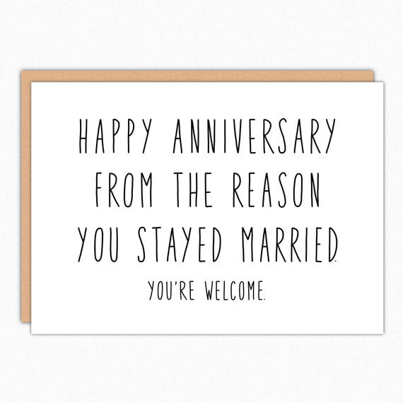 Anniversary card for parents happy anniversary parents funny etsy image 0 m4hsunfo
