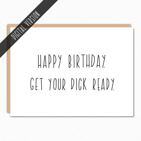 picture relating to Printable Birthday Cards for Him identified as Printable Birthday Card For Boyfriend For Partner For Him. Prompt Obtain. Electronic Card. Final Second. Acquire your well prepared.