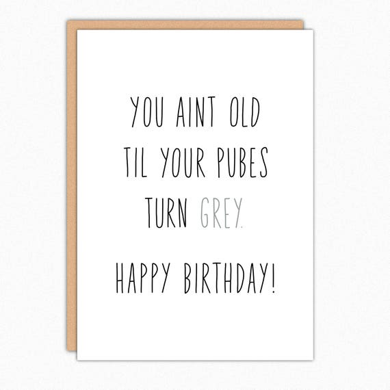 Funny Birthday Cards Card 30th