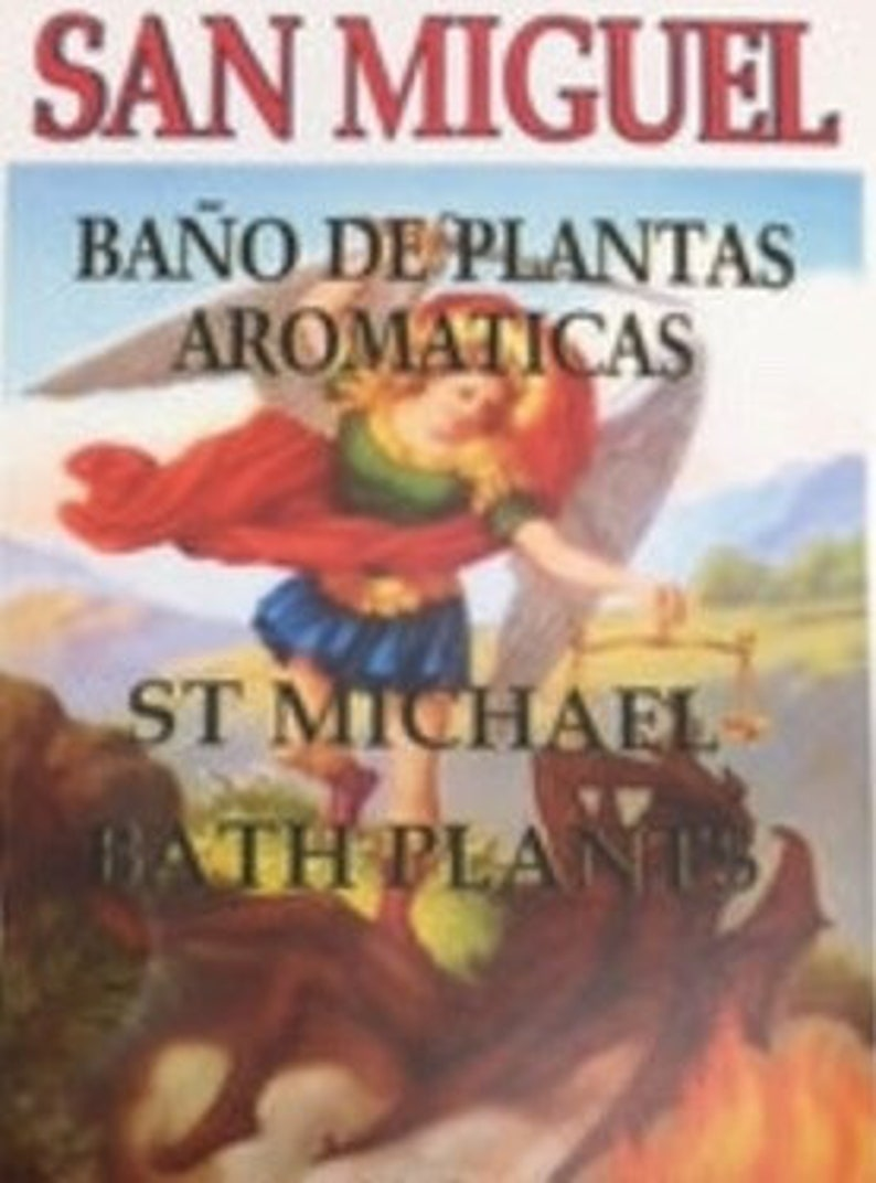 St Michael dry plant mixture is a powerful herb used in petitioning the  Archangel for spiritual protection against the devil