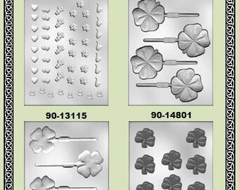 St. Patrick's Day Chocolate Molds (A)