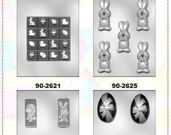 Easter Chocolate Molds (L)