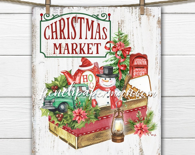Digital Christmas Sign, Xmas Market, Xmas Toys, Snowman, Tree, Wreath Attachment, Wreath Sign, DIY Xmas Sign, Toy Sign, Transparent