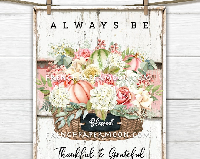 Thanksgiving Flowers, Autumn Bouquet, Pumpkins, Fall Flowers, Fall Decor Sign, Wreath Accent, Tiered Tray Digital Image, Image Transfer, PNG