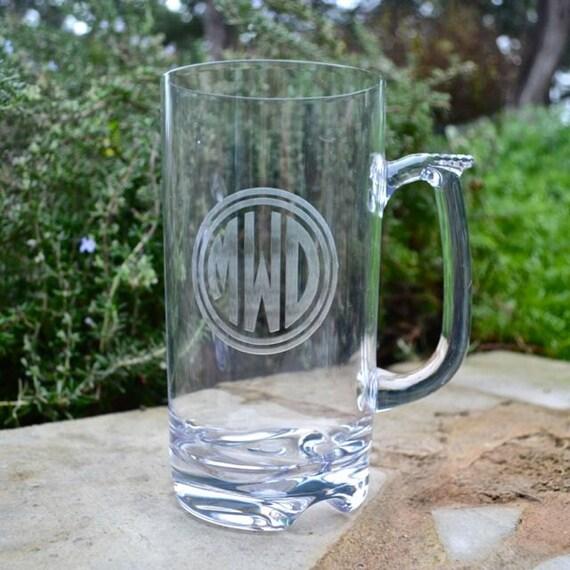 personalized tritan plastic beer mugs custom non breakable etsy