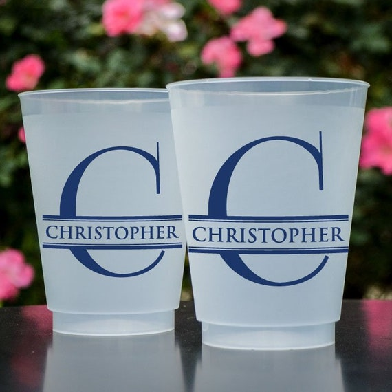 Custom Frost Flex Cups Shatterproof Cups Frosted Plastic Etsy