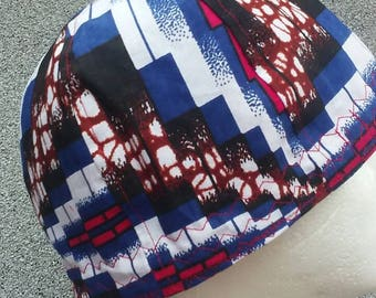 Abstract Stair Steps Welding Cap--Exact pattern varies with each cap. 371e8369a6e