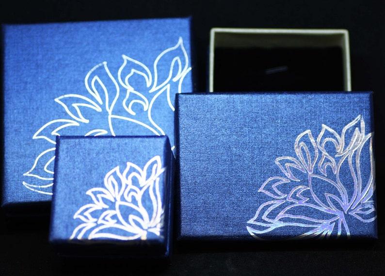 Healing Gems From Canada Natural Blue Zircon Bracelet Solid 14k White Gold 4th Anniversary December Birthstone