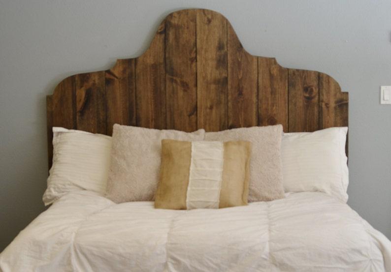 Wooden Arched Headboard Rosario