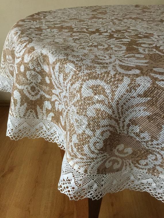 Spitze Tischdecke Runde Vintage Tischdecke Decken Spitze Tischdecke