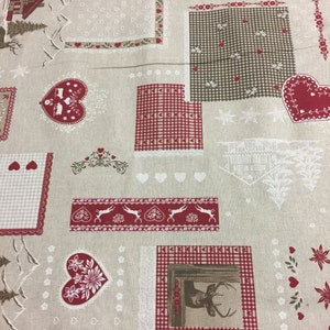 Christmas Tablecloth Round Square Oval Rectangle Cotton Fabric Table Linen Christmas Gift Home Decor  80 90 106 inches