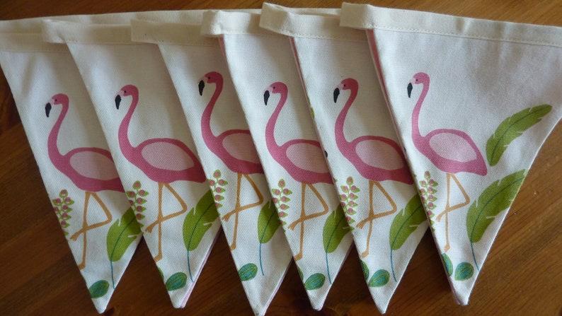 Flamingo Bunting