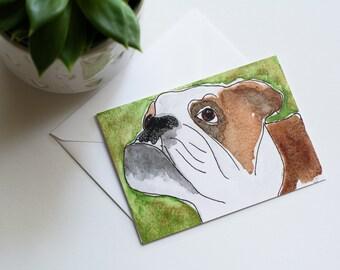 Alpha - Rescued Dog Notecard