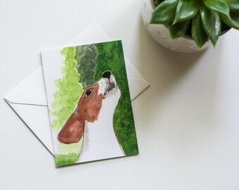 Echo - Rescued Dog Notecard