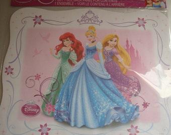 Disney princess placemats- set of 12
