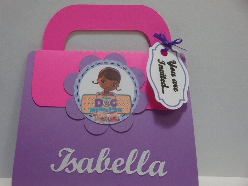 Doc Mcstuffins Personalized Invitation Set Of 8 Birthday