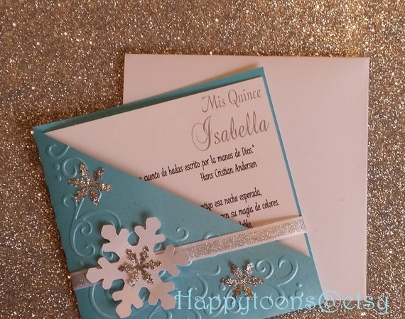 winter wonderland invitation quinceañera invitation sweet etsy