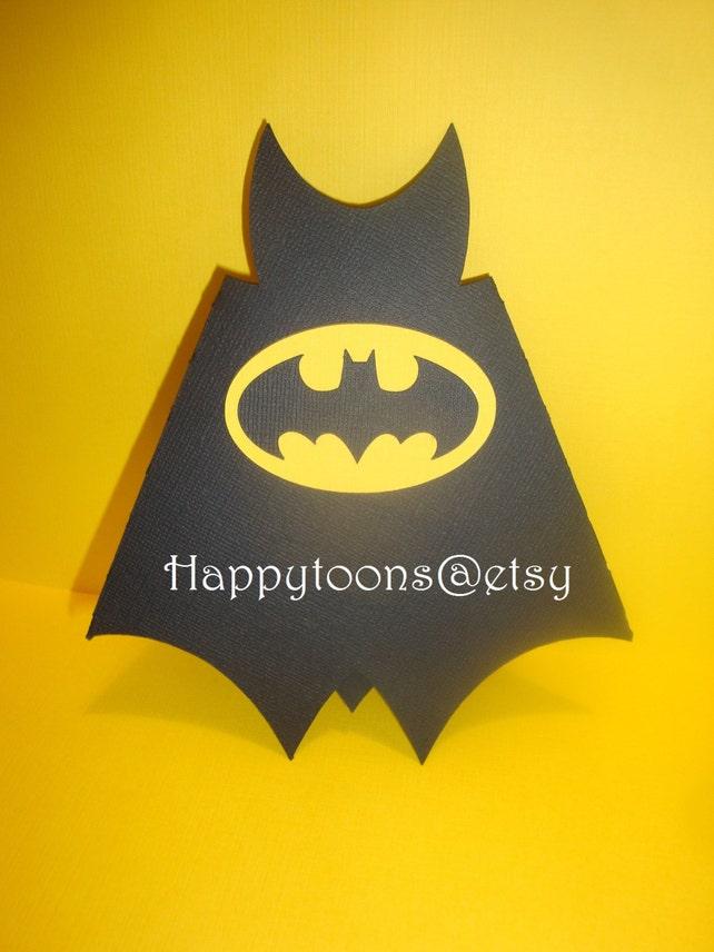 Batman Geburtstag Partei Einladungen Satz von 8-Superheld | Etsy