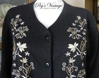 4a37b6e7a72 Vintage Black Sheer Top Blouse Penmans Plus Size 22W Vintage