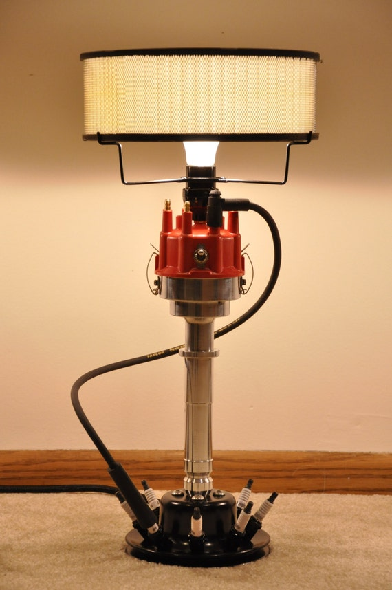 hotrod Distributor lamp Speed Ford The Racing gift Mopar by Original men's Chevy Performance Lamps Mancave l1cFKJ
