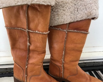 5fee160adf0a Shearling boots