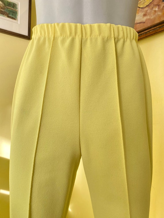 1970's, Two Piece, Western Leisure Suit, Yellow C… - image 4