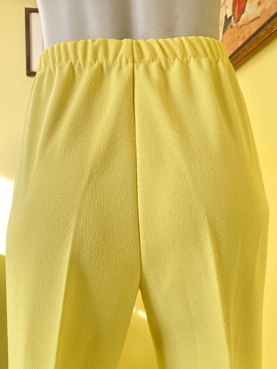 1970's, Two Piece, Western Leisure Suit, Yellow C… - image 3