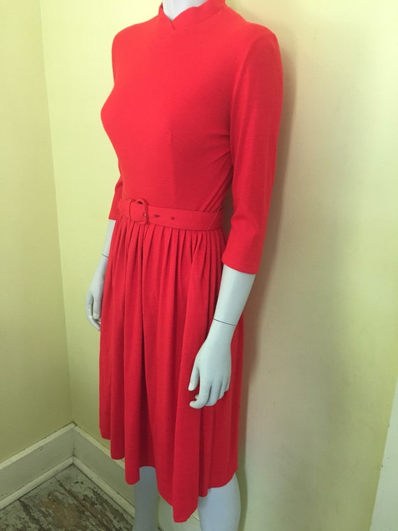 1960's, Kerrybrooke, Sears Roebuck, Red Dress, Bel
