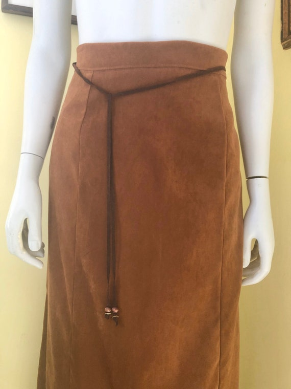 1990's, White Stag, Faux Suede, Brown Polyester, … - image 10