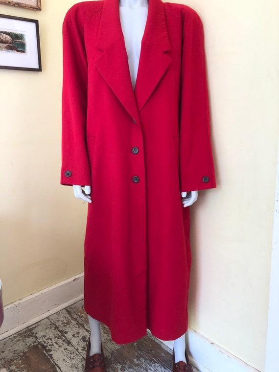 1980's, Pendleton, Lightweight Virgin Wool, Long … - image 4