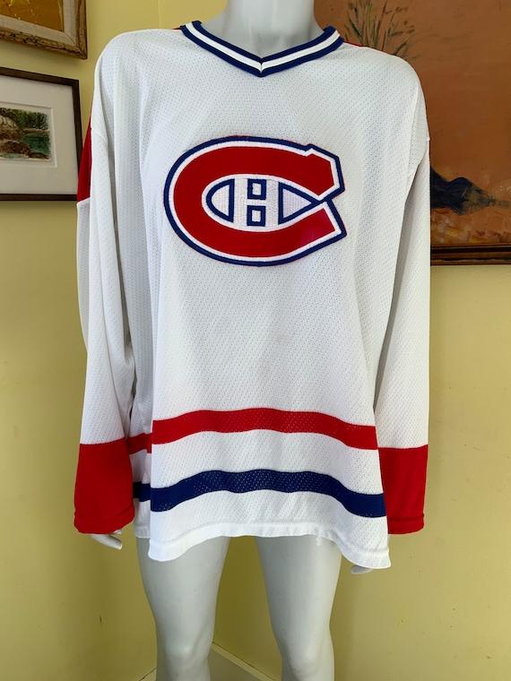 Vintage, Montreal Canadians, Hockey Shirt, mesh, … - image 2