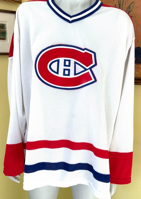 Vintage, Montreal Canadians, Hockey Shirt, mesh, … - image 3