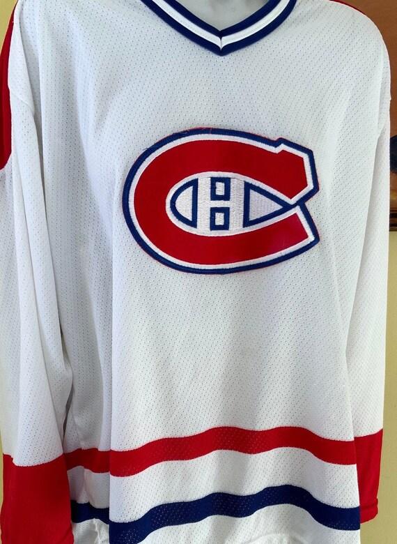 Vintage, Montreal Canadians, Hockey Shirt, mesh, … - image 9