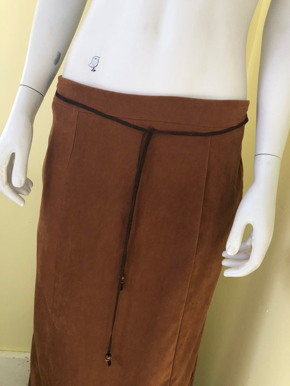 1990's, White Stag, Faux Suede, Brown Polyester, … - image 6