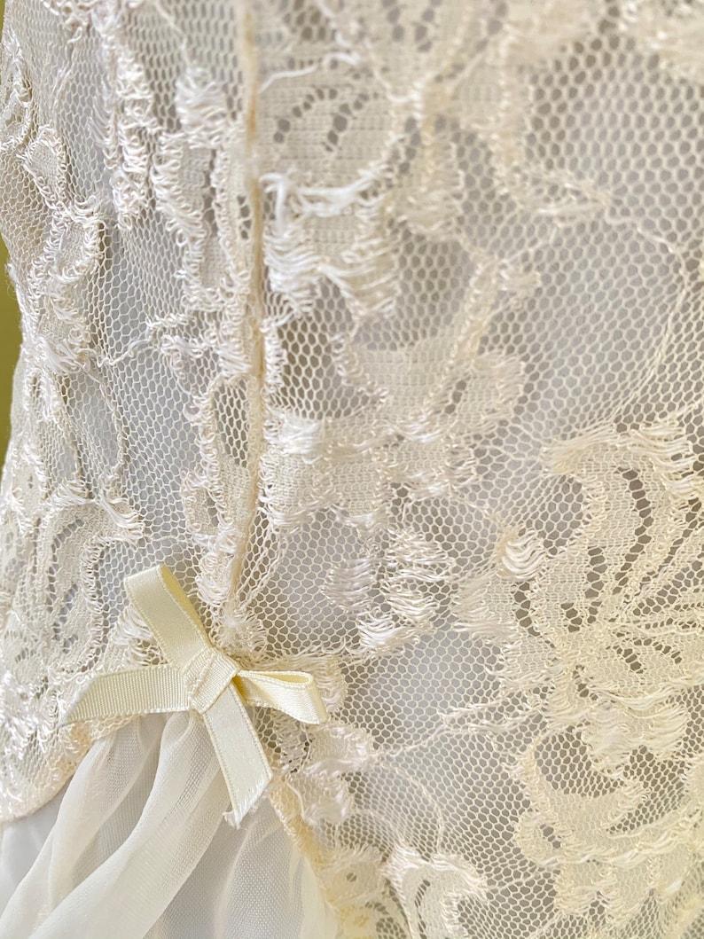 Ivory Medium Vintage Teddy Lace Camisole