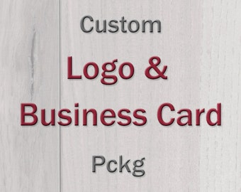 Custom Logo and Business Card Package